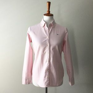 Vineyard Vines Women Woven Link Oxford Button Down